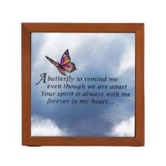 Butterfly Memorial Poem Tile   Zazzle.com Easy Baby Back Ribs Recipe, Memorial Poems, Love Poems, Reality Quotes, Office Gifts, Tile, Vibrant, Butterfly, Memories