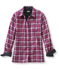 #LLBean: Fleece-Lined Flannel Shirt.  Seriously.
