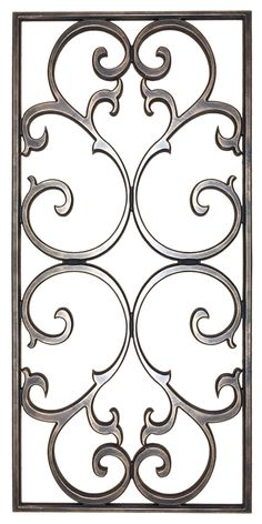 Take your ideas to a whole new height at a fraction of the cost with our faux iron and faux plaster ceiling decorations. verputzen Connor with Frame Wrought Iron Decor, Iron Wall Decor, Window Grill Design, Fence Design, Diy Shutters, Metal Tree Wall Art, Pergola Attached To House, Diy Pergola, Pergola Kits