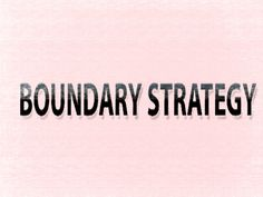 boundary strategy in binary options