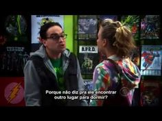 Penny and Leonard pretending to be parents of Sheldon /The Big Bang Theory (Legendado BR)