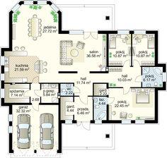 Goliat projekt - Партнёр 191.46 m² + garaż 31.81 m²