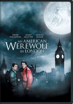 An American Werewolf in London 1981 poster - Two American college students on a walking tour of Britain are attacked by a werewolf that none of the locals will admit exists. Director: John Landis Writer: John Landis Stars: David Naughton, Jenny Agutter, Joe Belcher