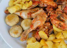 THERMOFAN: Pollo con funghi e patate (T)