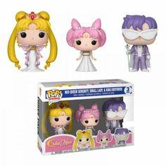 Sailor Moon - Neo Queen Serenity, Small Lady & King Endymion US Exclusive Pop! Sailor Chibi Moon, Sailor Moon Funko, Sailor Mars, Pop Sailor Moon, Sailor Moon Toys, Sailor Venus, Funko Pop Toys, Funko Pop Vinyl, Sailor Mercury