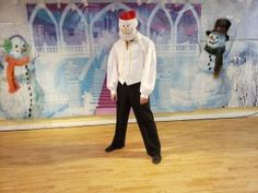 Frozen Angels From the Realms of Glory Christmas Carol Dance How To | Adventures In Dance Olaf