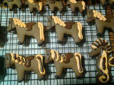 Gingerbread Horses for RDA 2015