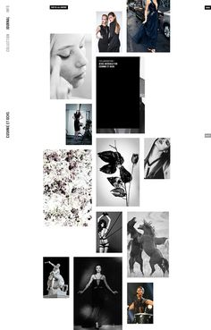 Cushnie et Ochs / Cushnie et Ochs. Design and Direction. Really pleased to work with my friends over at Cushnie et Ochs on their relaunch. UX/UI, design support, and development by Fanny Nordmark, Sam Hodges, and Sarahana Shresta respectively. Fashion Web Design, Web Design Trends, Web Layout, Layout Design, App Design, Image Layout, Report Design, Resume Design, Mise En Page Web