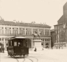 com'era Piazza Maggiore ex Piazza Vittorio Emanuele