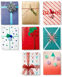 Gift-Wrapping Party - Rachael Ray Every Day * More details can be found by clicking on the image. Golf Party Favors, Everyone Leaves, Love Gifts, Gift Bags, Gift Baskets, Holiday Gifts, Wraps, Presents, Gift Wrapping