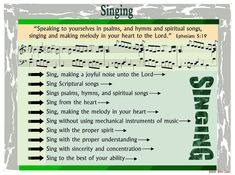 Christian songs to sing