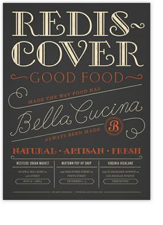 alvin diec–bella cucina poster