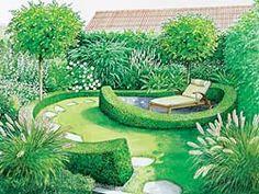 Sitzplatz Gartengestaltung