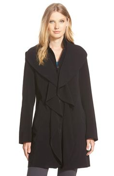Gallery Ruffle Front Nepage Coat available at #Nordstrom