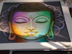 Paintings of Buddha- at Chitrasante 2016