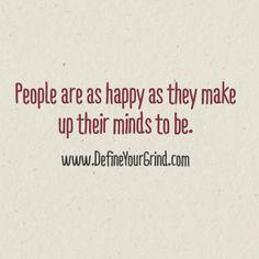 A Felicidade pode ser considerado um estado de espírito que se manifesta e torna visível aos outros pela nossa expressão corporal e pelas nossas acções. Portanto, um pensamento positivo é o melhor começo para atingir a Felicidade!