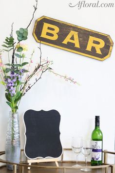 Bar Sign. One of the
