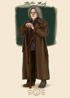 Order of the Phoenix - Alastor Moody by aidinera.deviantart.com on @DeviantArt