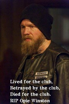 SOA opie sons of anarchy -still can't get over it..