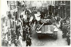 This is an image taken during the Liberation of the Netherlands, the end of the war. The Canadians put an end to the war by Liberating the Netherlands city by city, creating a warm, caring relationship between the two countries. This is a credible source because it is a picture taken during the time of the Liberation of the Netherlands. This changed the lives of Canadians because this event ended the war. They were exhilarated that the war ended, and that it was Canada that ended the war.