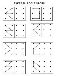 Printable dot grid imitation worksheets, progressively