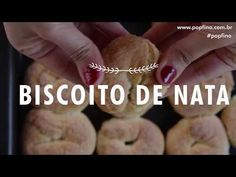Biscoito de Nata – PopFino Food, Interior, Youtube, Drop Cookie Recipes, Refrigerator, Crack Crackers, Grasses, Milk, Types Of