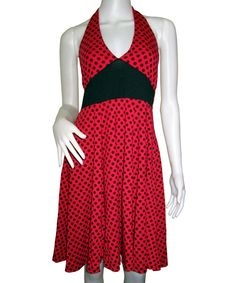 Polka dots rockabilly vintage dress [DR-016] - $44.66 : Punk Clothing, Rockabilly Clothing, Pinup Girls Clothing, Pin Up Dresses