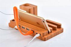 """Dock de carga """"4 en 1"""" para Apple Watch y otros dispositivos - RoseFlower Creative"""