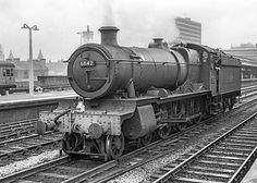 6842 Nunhold Grange at Birmingham Snow Hill Live Steam Locomotive, Rail Transport, Steam Railway, Old Trains, British Rail, Great Western, Hill Station, Steam Engine, Beautiful Images