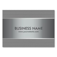 Professional Metal Steel Automotive Business Cards