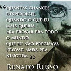 FRATERLUZ: Quantas chances desperdicei (Renato Russo)