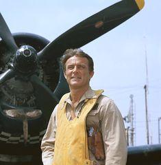 BAA BAA BLACK SHEEP -- Pictured: Robert Conrad as Maj. Greg 'Pappy' Boyington Robert Conrad, Black Sheep Squadron, Big Blue Whale, Baa Baa Black Sheep, Me Tv, Usmc, Wild West, Movie Stars, Pop Culture