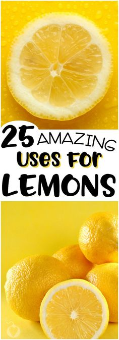 Here are 25 things you probably didn't know you can do with lemons. Well, other than make lemonade. Have fun! Homemade Wall Decorations, Room Decorations, Best Life Advice, Lemon Uses, Diy Cleaners, Simple Life Hacks, Lemon Recipes, Natural Living, Simple Living