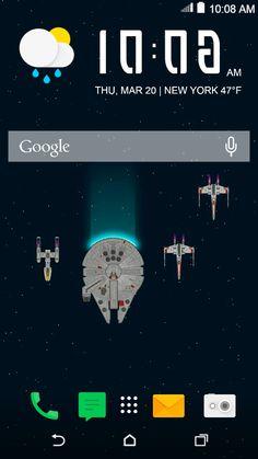 SW-minimal - star wars minimal theme #HTCThemes
