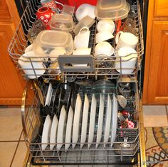 Loading Dishwasher correctly can save your time, water consumption, and results in cleaner dishes. Like any other machines it is important to take care of your dishwasher.
