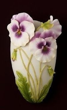 Pansy Wall Vase: Home Improvement