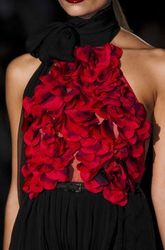 Gucci Fall 2011  In love with these petals!