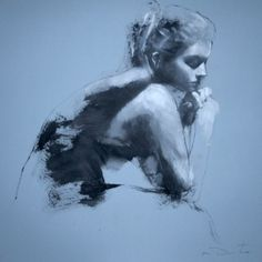 demsteader Study for Hollow  Oil on board