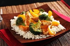 Combine some unbeatable flavors for this Sweet and Sour Chicken Stir-Fry! Serve our sweet and sour chicken with peppers and broccoli over rice.
