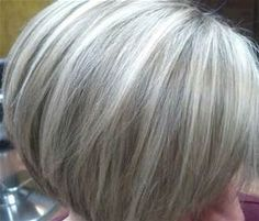 Highlights and lowlights by Amanda | Going gray gracefully ...
