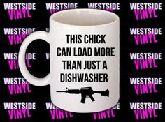 Funny Mugs, Novelty, Office Gift, Ceramic, Printed Both Sides, Add Any Name Image Logo, Can Load More Than Just A Dishwasher