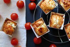 Cake chèvre tomates confites