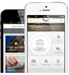 Smartthings: Reimagine Real Unlock a new world of possibilities by using your smartphone to communicate with everyday objects in your life. Lights & Switches Doors & Locks People & Cars Dangers & Damages