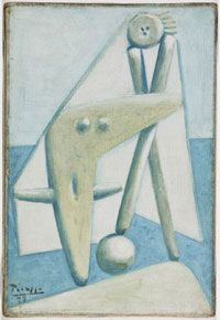 Bather, Design for a Monument, 1928, Pablo Picasso, Spanish