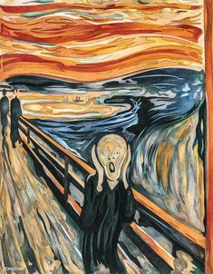 Discover Edvard Munchs The Scream oil painting at overstockArt. Jack Black, Scream, Artist Research Page, Famous Art Paintings, Drawing Sketches, Drawings, Free Adult Coloring Pages, Edvard Munch, Painting Wallpaper