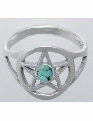 Pentagram rings, symbol of importance, leadership