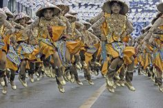 Sinulog Festival, Cebu Philippines....celebrated annually on the third Sunday in January....symbolizes the ancient society's transition from paganism to Roman Catholicism.