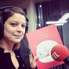 Quelle belle tête du matin Marie! Par contre, la voix parfaite pour la radio! #belrtl #jeuconcours #gagneunlivre