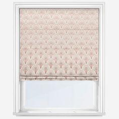 Camille Rosedust Roman Blind   Blinds Direct Pink Roman Blinds, Blinds Direct, Blinds For You, Blackout Blinds, Pencil Pleat, Curtain Poles, Window Dressings, Color Pop