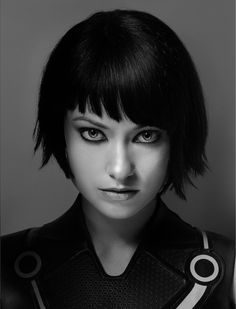 The futuristic bob Top 100 Short Hairstyles 2014 for Women | herinterest.com